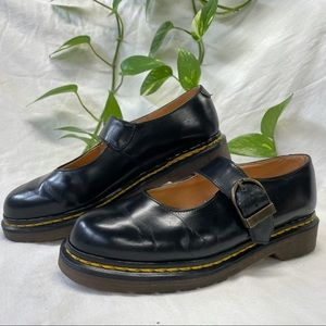 Double Stitching Vintage MIE Dr. Martens Mary Jane